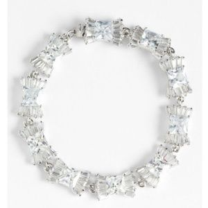 Kate Spade Le Soir Glass Crystal Tennis Bracelet